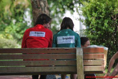 Brigades au Ranzay - photo Denis Amelson